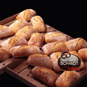 Dinkelbrötchen vegan Bäckerei Schmidt