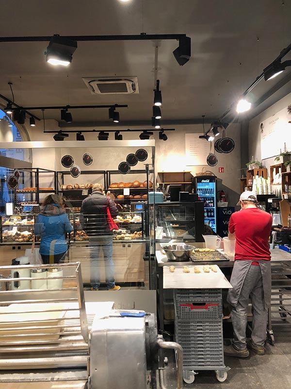 Gläserne Backstube Bäckerei Schmidt Karlsruhe