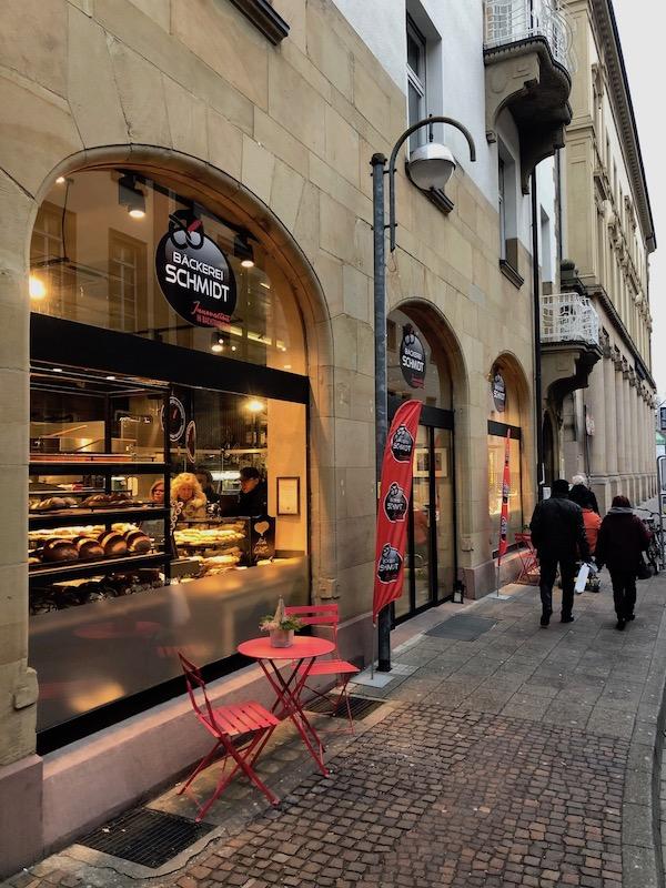 Bäckerei Schmidt Karlsruhe Außenansicht