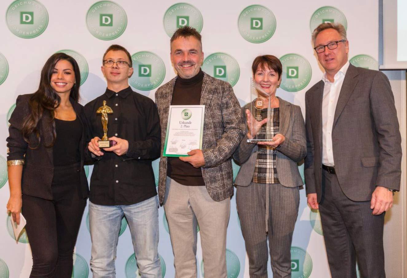 DEICHMANN-Förderpreis für Integration an Bäckerei Schmidt Karlsruhe