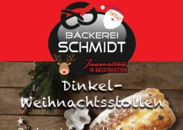 Unsere leckeren Dinkel Weihnachtsstollen - Bäckerei Schmidt Karlsruhe