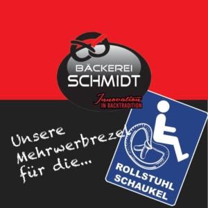 Rollstuhlschaukel - Bäckerei Schmidt Karlsruhe