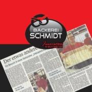 Zeitungsausschnitt aus der BNN vom 16.02.2020 über Bäckerei Schmidt Karlsruhe