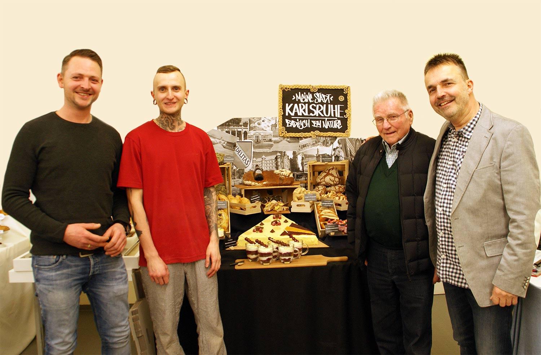 4 Generationen an Bäckermeister - Bäckerei Schmidt Karlsruhe